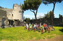 6 horas de viaje en bicicleta: Appian Way y Parque Aqueducts