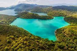Lancha privada o Yacht Tour al Parque Nacional Mljet Lakes desde Dubrovnik