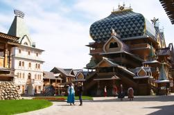 Izmailovo Kremlin con Matreshka Pintura en Moscú