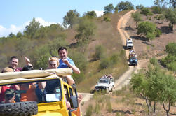 Jeep Safari Algarve Slide e Splash Tour de Dia Inteiro