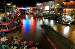 Private Tour: Amphawa mercado flutuante e templos de Bangkok