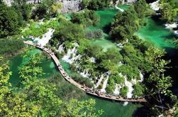 Excursão privada do parque nacional de Plitvice de Zadar