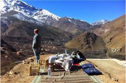 Excursión de 3 días en las montañas del Atlas y los pueblos bereberes de Marrakech