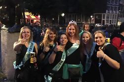 Amsterdam Red Light District: Caminhada noturna guiada e festa