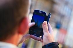 Edimburgo Smart Phone Fotografía Paseo a pie