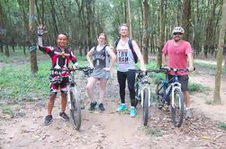 Excursión en bicicleta por túneles de Cu Chi desde Ho Chi Minh City