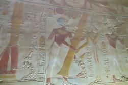 Excursão privada ao Templo de Hathor e Templo de Abydos