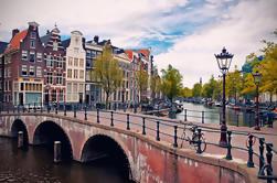 Excursão histórica a pé do centro da cidade de Amesterdão
