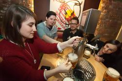 Excursão da cultura e da província da cerveja da noite de Praga