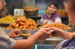3 horas de comida caminando en el Viejo Delhi