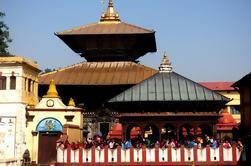 Excursão privada de meio dia do Templo de Pashupatinath e da Stupa de Boudhanath