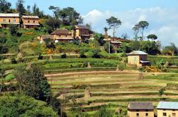 Nagarkot a Changu Naryan Día de marcha de Katmandú