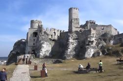 Excursión de un día a los castillos por los Eagles Nests Trail desde Cracovia