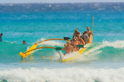 Beach Boy Adventure - Outrigger Canoe Ride Plus Lección de Surf