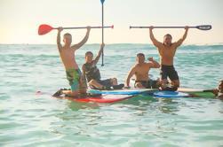 Private Stand-Up Paddle Boarding Lección en la playa de Waikiki