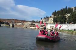 Verona: Bicicleta y Rafting