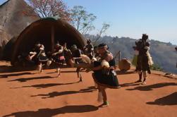 Phezulu Cultural Village e Reptile Park Tour de Durban
