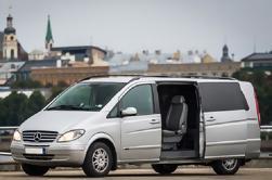 Transfer privado de minivan de Sigulda a Riga o Riga a Sigulda