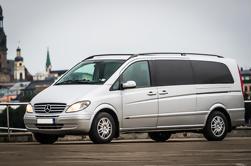 Transporte privado de minivan de Klaipeda a Riga o de Riga a Klaipeda
