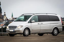 Transporte privado de minivan de Siauliai a Riga o de Riga a Siauliai