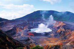 Volcán Poas y La Cascada de La Paz