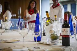 Pamplona Cuadrilla cena y Fiesta de fuegos artificiales en la azotea