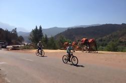 Débutants Vélo sur route Visite des montagnes de l'Atlas depuis Marrakech