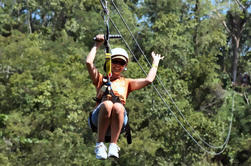 Falmouth Shore Excursion: Privado Zipline Aventura
