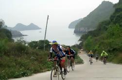 Bicicleta de 3 días y paseo en bote por la bahía de Halong desde Hanoi