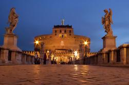 Excursión en bicicleta por la noche en Roma
