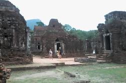 Excursión de un día a mi hijo a Santuario de Da Nang