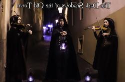 Vieille ville de Prague Vie nocturne de fantômes et de mystères