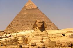Descubra El Cairo: Pirámides de Giza Memphis y Sakkara incluyendo almuerzo
