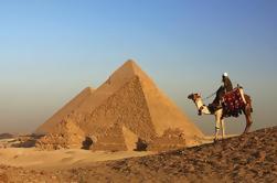 Excursión de un día a Pirámides de Giza, Esfinge y Saqqara