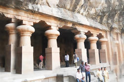 Ancient World Ancient Elephanta Caves Tour con Toy Train Ride