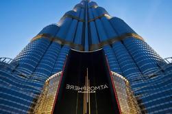 AtMosphere Lounge en el piso 122 de la Torre Burj Khalifa con Traslados Privados