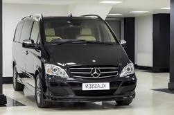 Private Abfahrt Transfer: Zentral-London nach Heathrow Flughafen in einem Luxus-Van