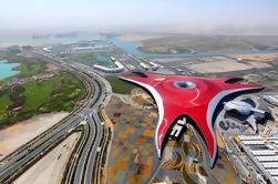 Tour por la ciudad de Abu Dhabi, incluidos los boletos de Ferrari World Tour guiados desde Dubai