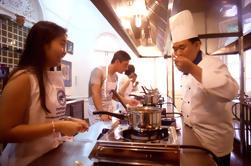 Clase de cocina tailandesa en la escuela Blue Elephant en Phuket