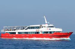 Koh Samui a Krabi por el transbordador y el coche de alta velocidad