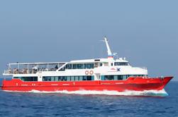 Koh Samui a la playa de Railay por el transbordador de alta velocidad incluyendo el coche del VIP y el barco de Longtail