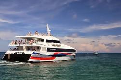 Koh Tao a Surat Thani Aeropuerto incluyendo catamarán de alta velocidad y Van compartido