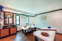 2-Horas Orientala Spa en Patong: Masaje tailandés y Reflexología del pie incluyendo el transporte del hotel