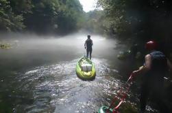 Kayak en el Cañón de Mreznica