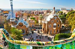 Barcelona Høydepunkter Private Day Tour inkludert Park Guell