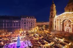 Tour de mercado de Navidad en Budapest, incluyendo visita al baño termal