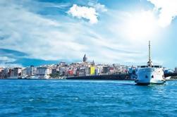 Croisière du Bosphore et circuit de la corne d'or avec téléphérique d'Istanbul