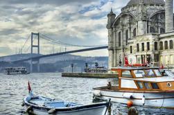 Tour de 2 continentes con crucero por el Bósforo incluido y Palacio Beylerbeyi